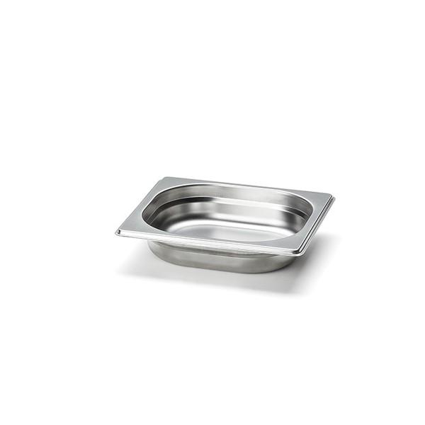 Continenta Edelstahl-Schublade klein für Multi-Brett