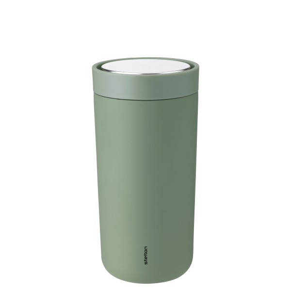 Trinkbecher To Go Click 0.4 l, soft Armeegrün