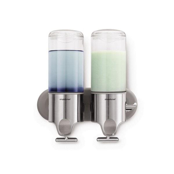 Simplehuman Shampoo- und Seifenspender Duo 444ml