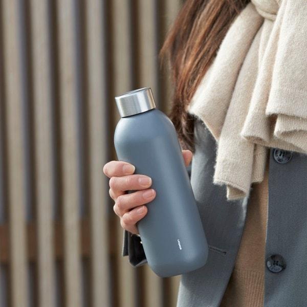 Stelton Trinkflasche KEEP COOL 0.6 l, matt Granitgrau