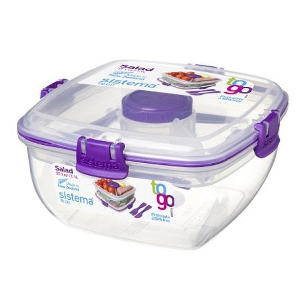 sistema Salatbox To Go, lila