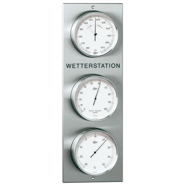 Barigo Wetterstation Außen- Baro- Hygro- und Thermometer