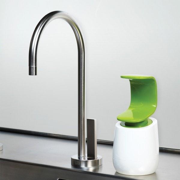 Joseph Joseph Seifenspender C-Pump, weiß-grün