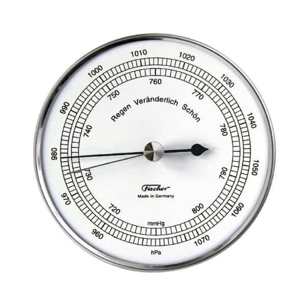 Fischer Barometer, Edelstahl