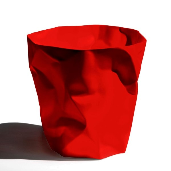 Klein und More Papierkorb BIN BIN rot
