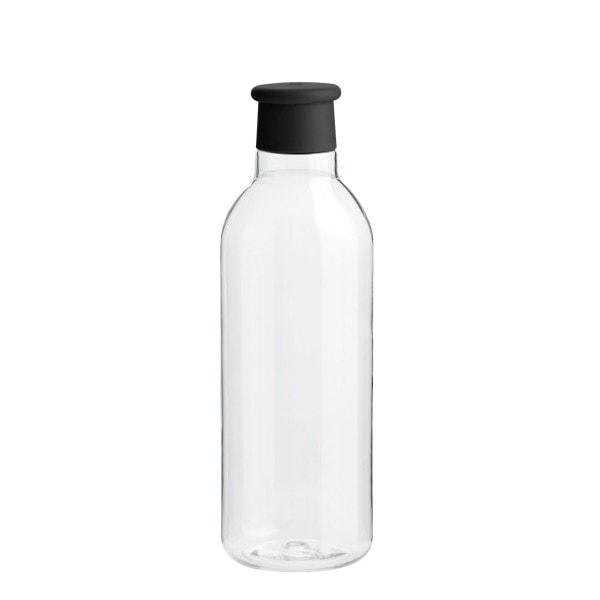 RIG-TIG Trinkflasche, transparent-schwarz
