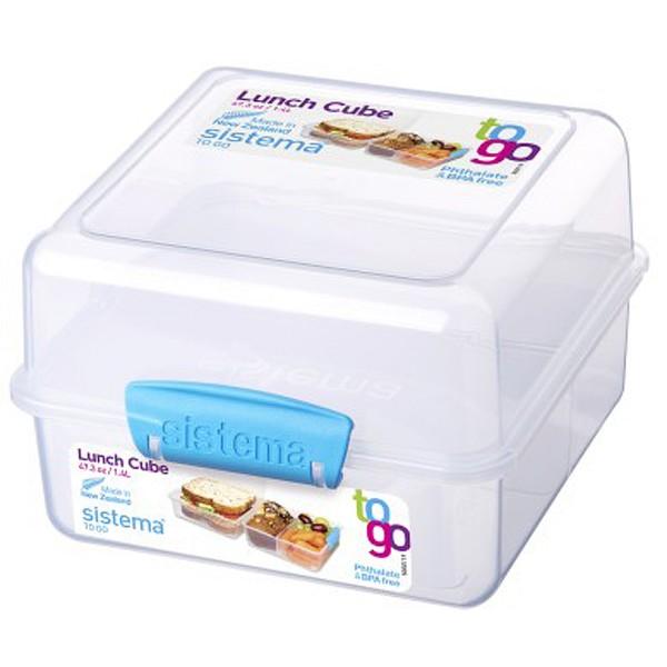 sistema Lunch Box To Go, Clip blau