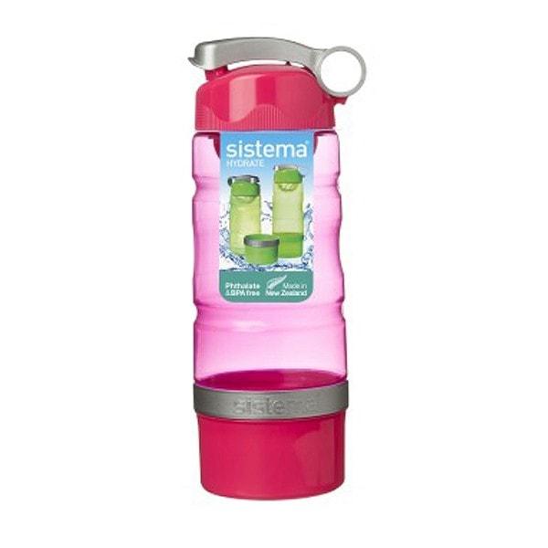 sistema Trinkflasche Sport Fusion 615 ml, pink