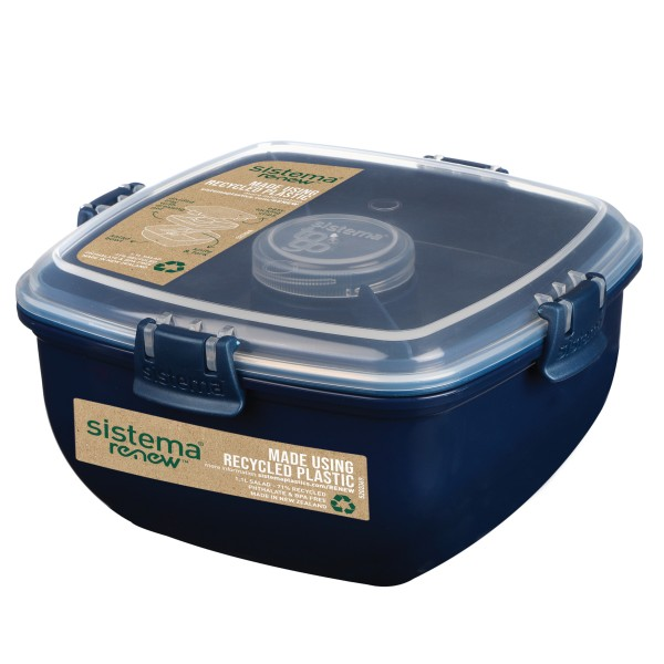sistema Salatbox To Go RENEW mit Besteck - Farbwahl