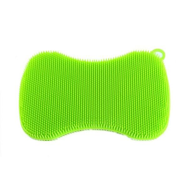 Kochblume SWISCH Silikonschwamm rechteckig tailliert grün