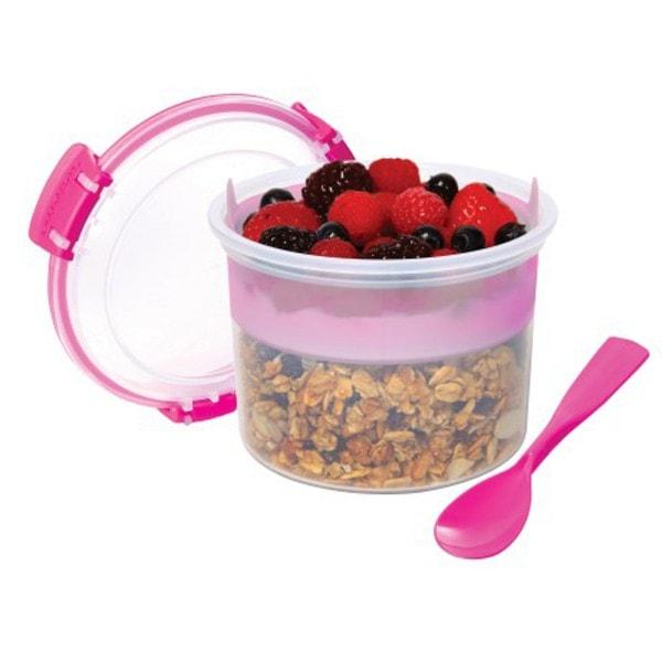 sistema Box Breakfast To Go 0.53 l, pink
