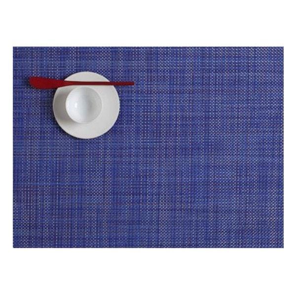 Chilewich Tischset MINI BASKETWEAVE Blueberry - 2er Set