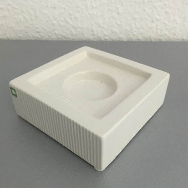 Cult Design Kerzenhalter Changetta gerippt 10 x 10 cm