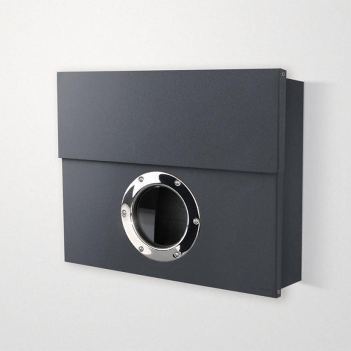 radius briefkasten letterman xxl anthrazit briefkasten outdoor livingtools design zum leben. Black Bedroom Furniture Sets. Home Design Ideas