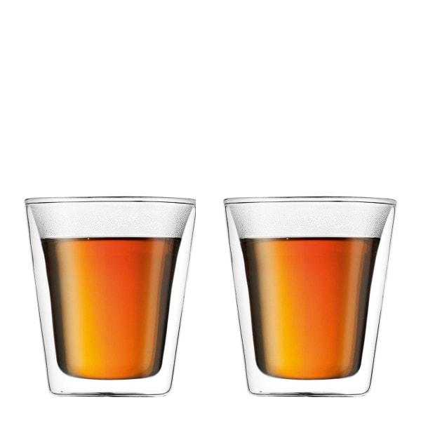 Bodum CANTEEN Glas doppelwandig 0.2 l - 2er Set
