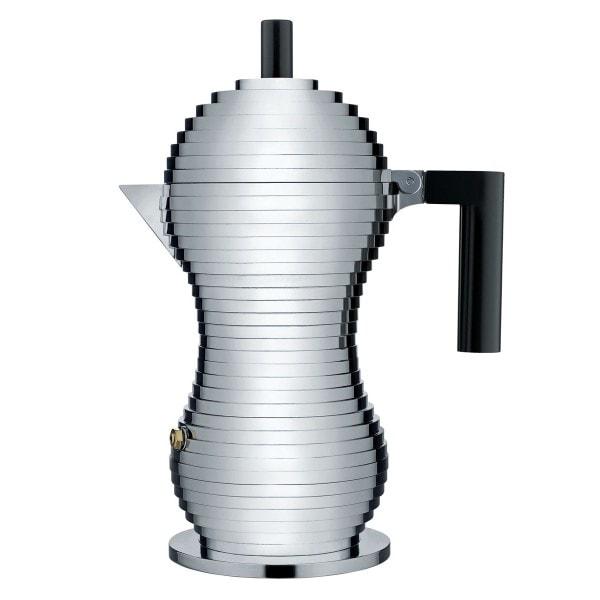 Alessi Espressomaschine PULCINA 30 cl, schwarz