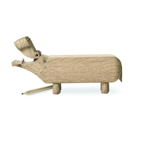 Kay Bojesen Holzfigur Flusspferd