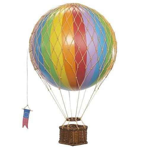 Authentic Models Modellballon 18 cm Regenbogen
