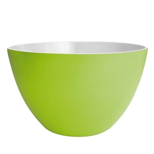 Zak designs Schüssel DUO 28cm grün-weiß