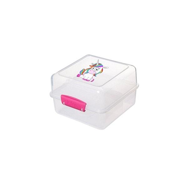 sistema Lunch Box EINHORN To Go, Clip pink