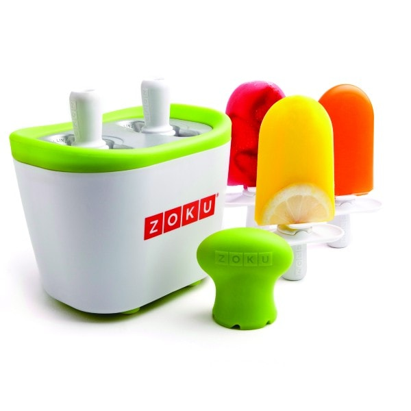ZOKU Duo Quick Pop Maker Eis am Stiel-Zubereiter