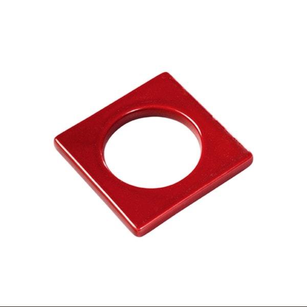 Cult Design Manschette für Teelichthalter rot