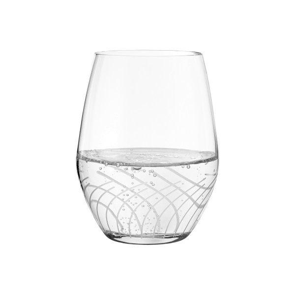 Holmegaard 2er-Set Wasserglas CABERNET LINES 25cl