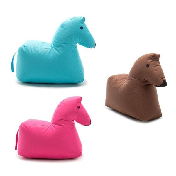 Sitzsack Pferd LOTTE Happy Zoo, braun
