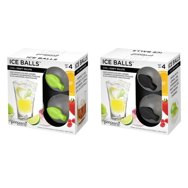 Prepara ICE POD Eiswürfel-Ball - 4er Set
