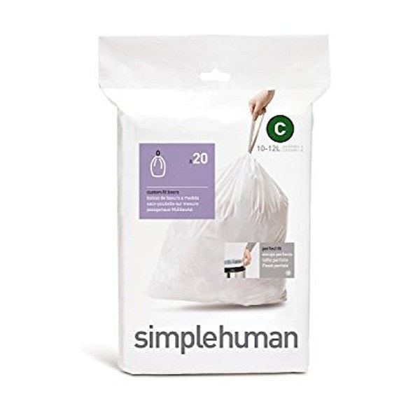 simplehuman 20 Abfallbeutel C 10 l