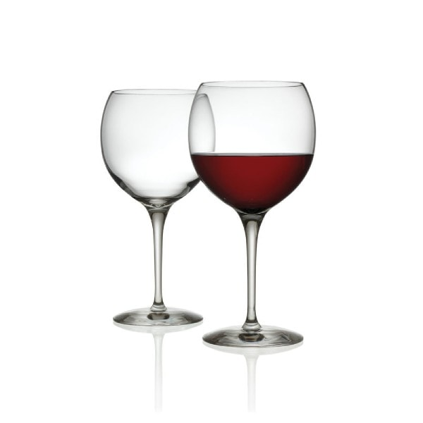 ALESSI Rotweinglas - Mami XL - 2er Set