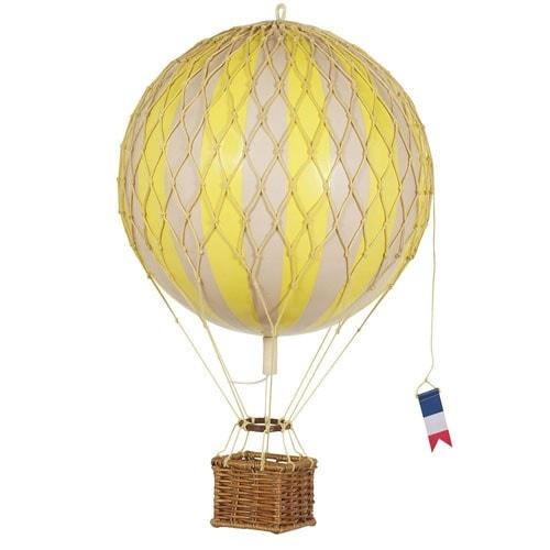 Authentic Models Modellballon 18 cm gelb