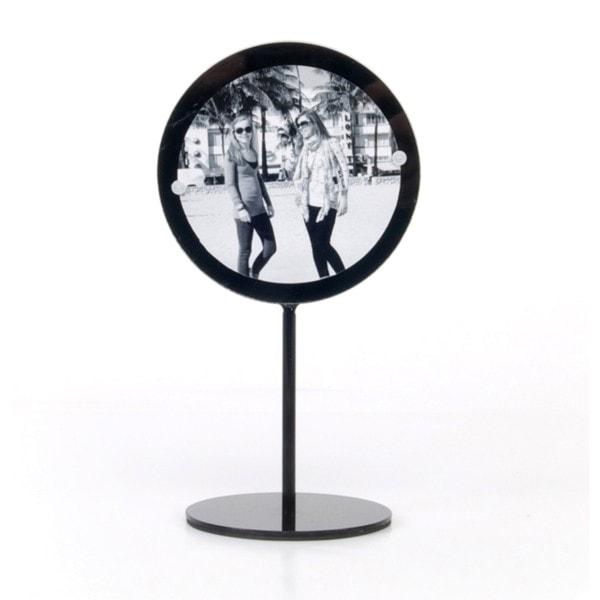 XLBOOM Spiegel BLUSH medium, schwarz