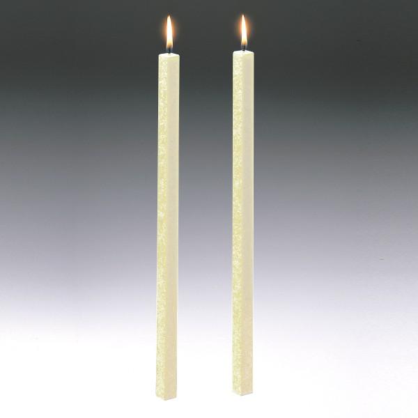 Amabiente Kerze CLASSIC elfenbein 40cm - 2er Set