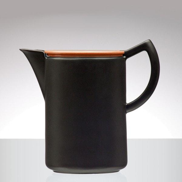 Sowden SoftBrew Kaffeekanne JAMES 1.2L schwarz-orange