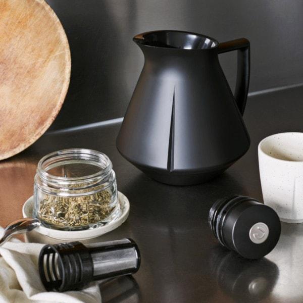 Rosendahl Tee Isolierkanne GRAND CRU 1l, mattschwarz