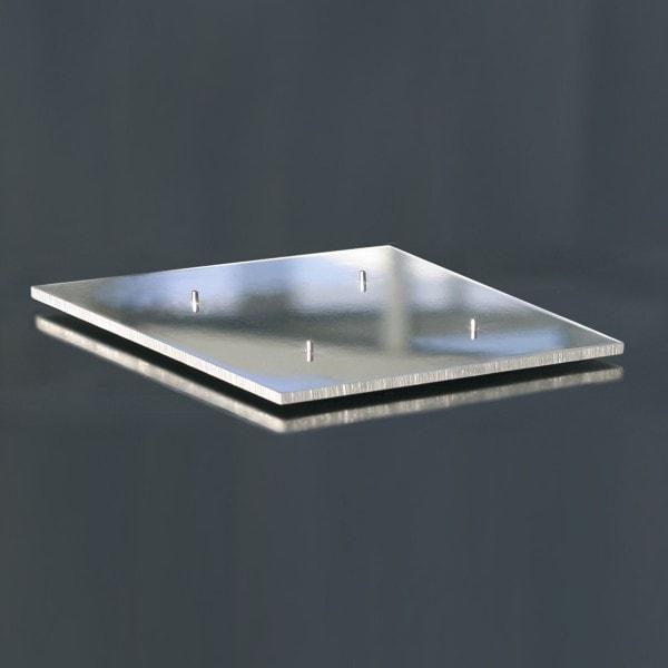 Amabiente Leuchterplatte TA1 Aluminium
