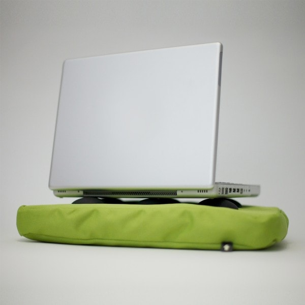 Bosign Laptop Kissen SURF PILLOW limette-schwarz Hitech