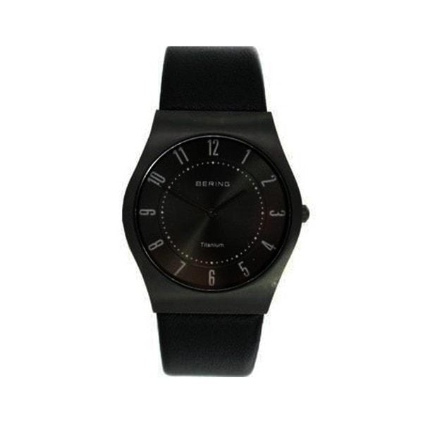 Bering Armbanduhr TITANIUM 11935-404 schwarz