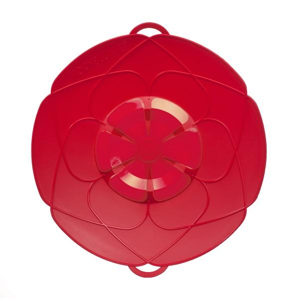 Kochblume Überkochschutz rot 33 cm