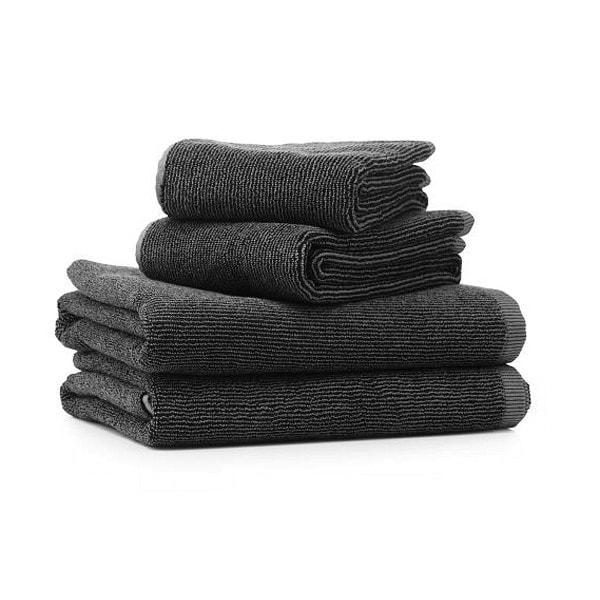 Vipp 109 Handtuch Set, 4 Stück schwarz