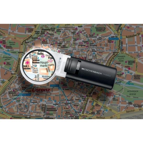 ESCHENBACH Lupe mobiluxLED 12D 3x 60mm
