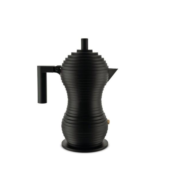 Alessi Espressokocher PULCINA 30 cl, matt anthrazit