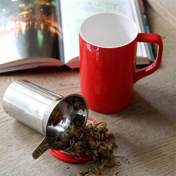 Teebecher TIM Tea für Einen, rot
