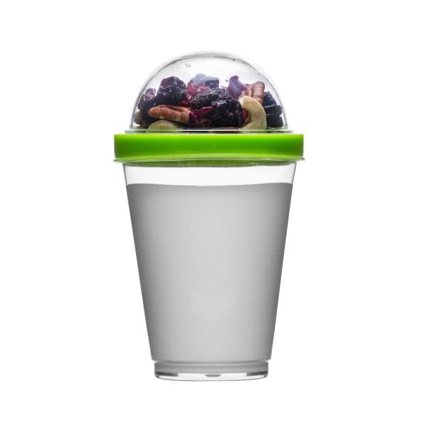 Sagaform Yoghurtbecher Fresh to go, grün