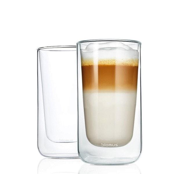 BLOMUS Latte-Macchiato-Gläser NERO, 2er Set