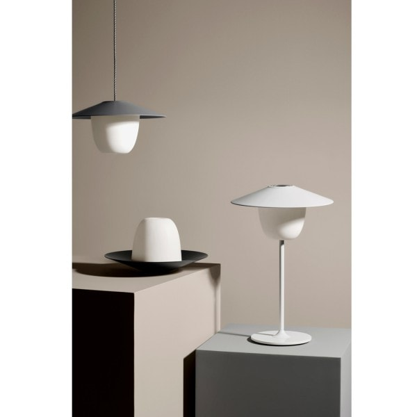 Blomus Mobile LED Leuchte ANI, dunkelgrau