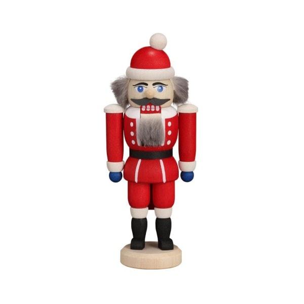 Mini Nussknacker - Weihnachtsmann, 14 cm
