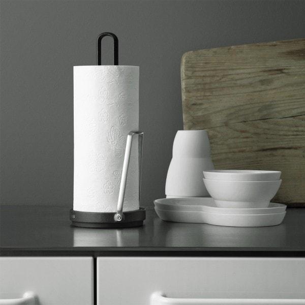 Vipp 266 Küchenrollenhalter, schwarz