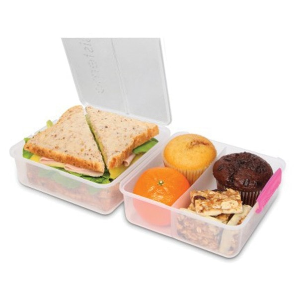 sistema Lunch Box To Go, Clip pink